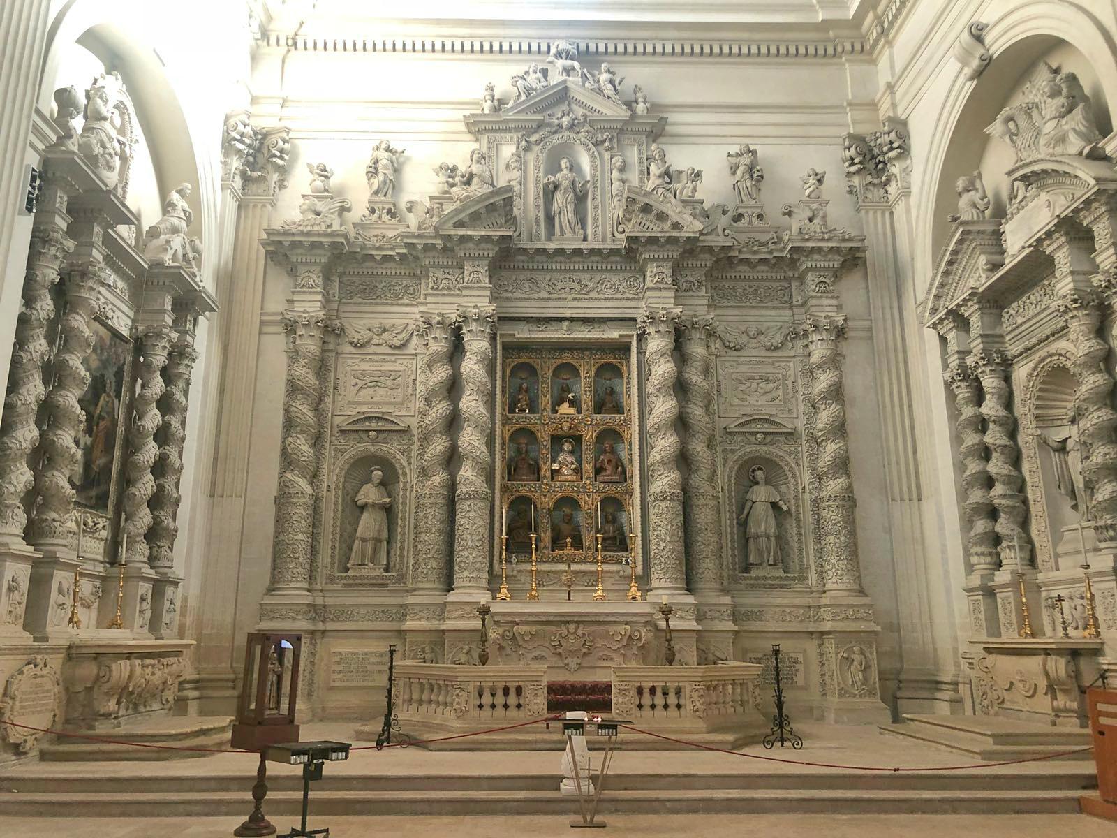 Altare San Gaetano Chiesa di Sant'Irene