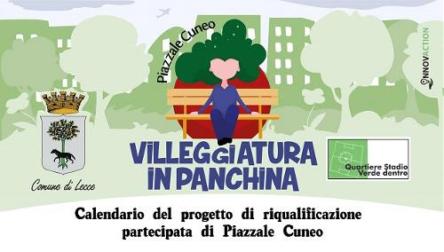 calendario villeggiatura in panchina