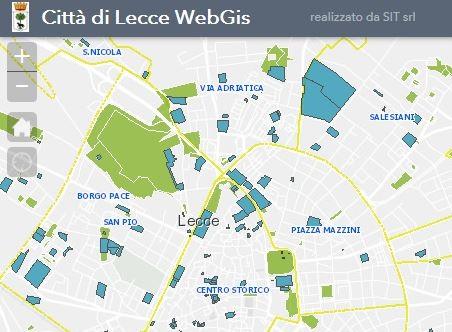 mappatura del patrimonio comunale