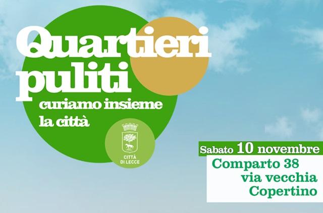 Quartieri puliti - Locandina Comparto 38