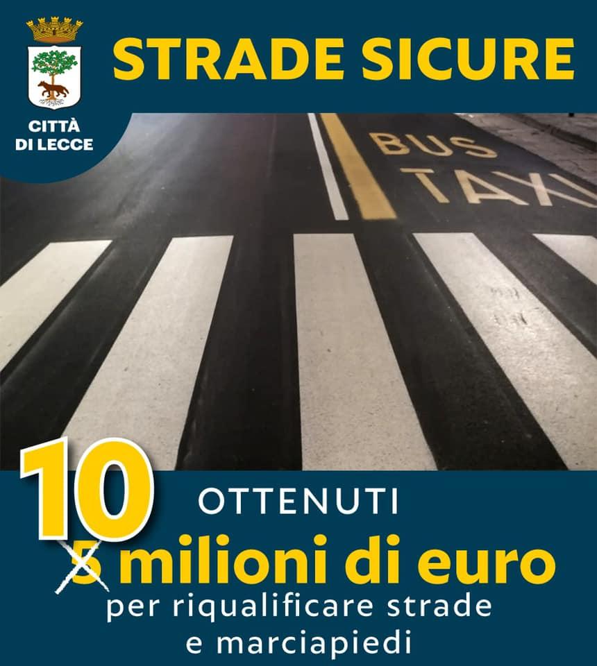 finanziamento strade sicure